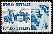Woman Suffrage Stamp