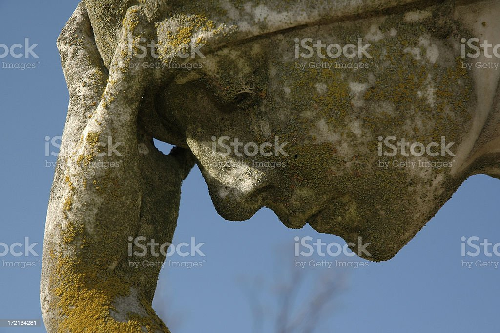 Woman - Thinking royalty-free stock photo