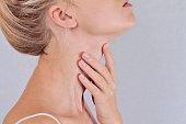 Woman thyroid gland control
