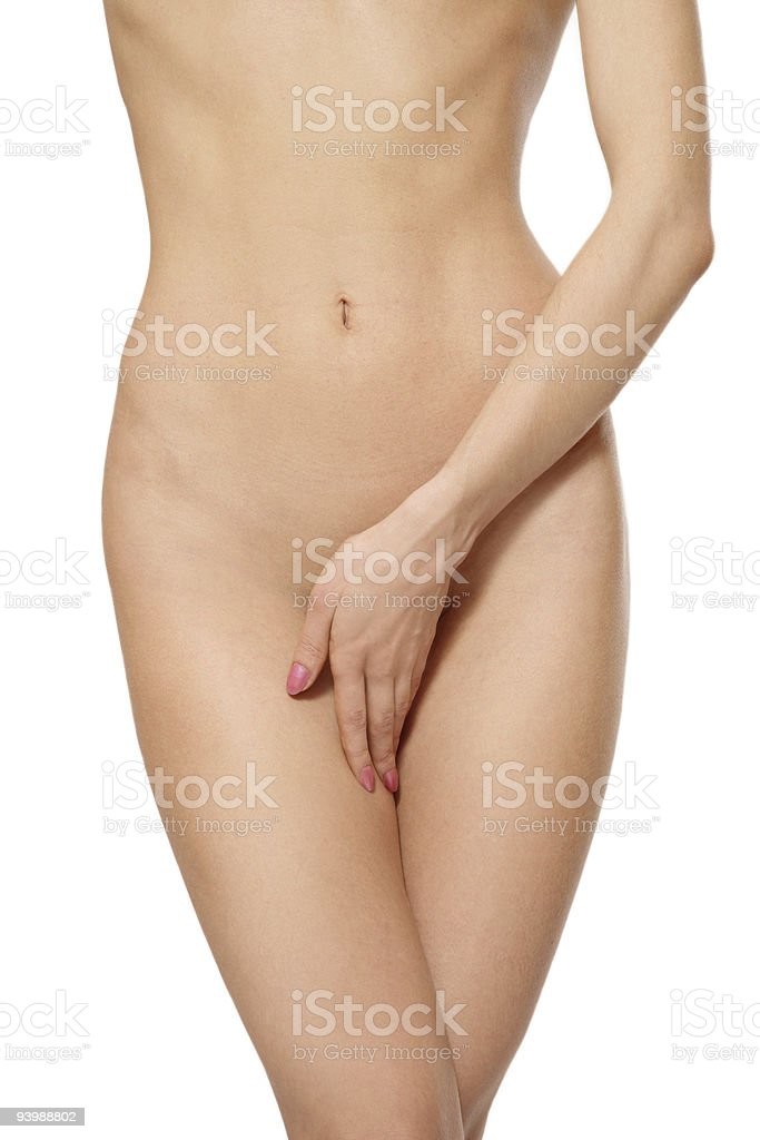Woman torso stock photo