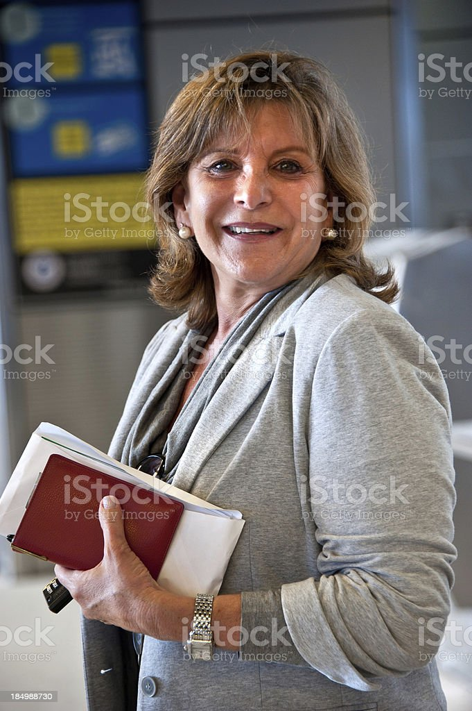 Woman Travelling royalty-free stock photo