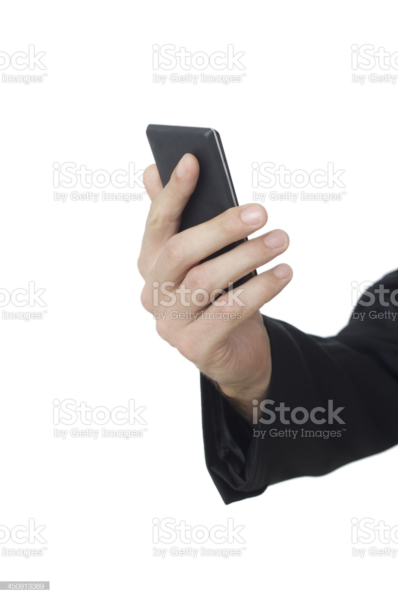 Woman Using Smart Phone royalty-free stock photo