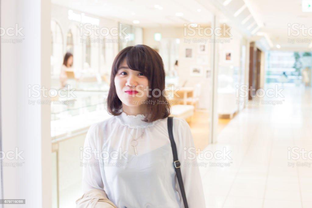 笑顔が可愛い 女性 stock photo