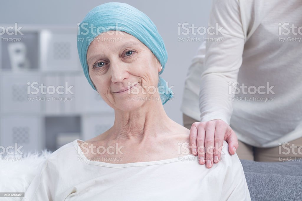 Woman with inner strength stock photo