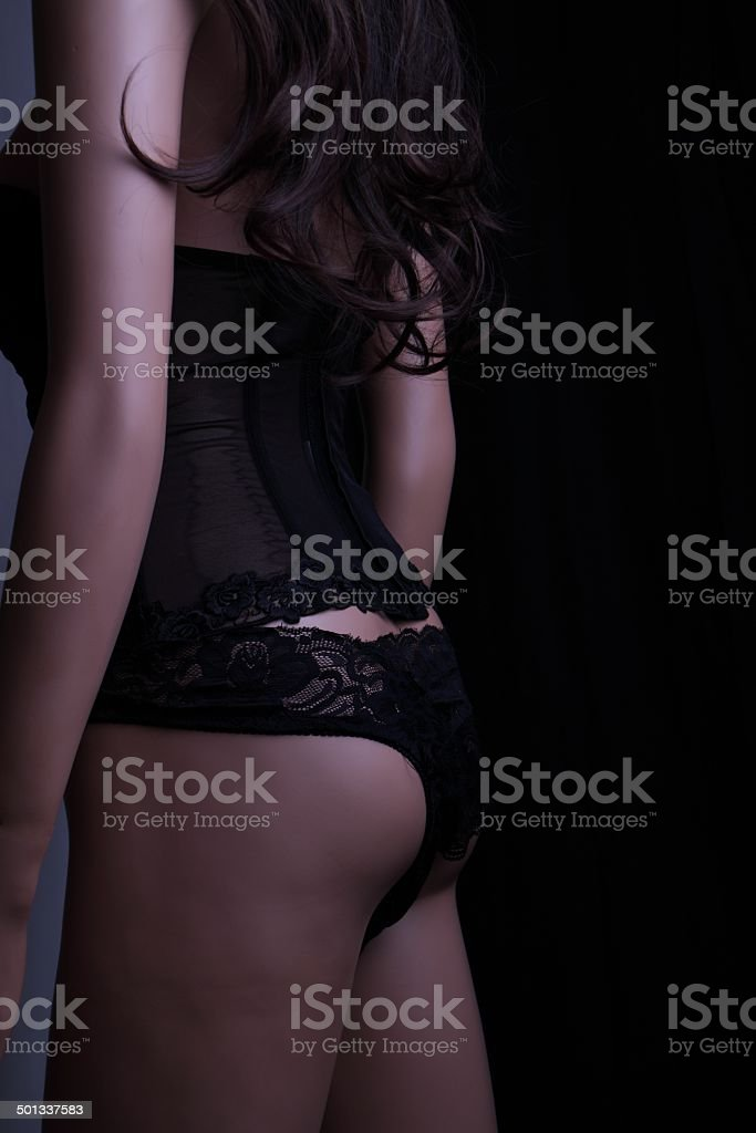 Frau mit sexy Dessous royalty-free stock photo