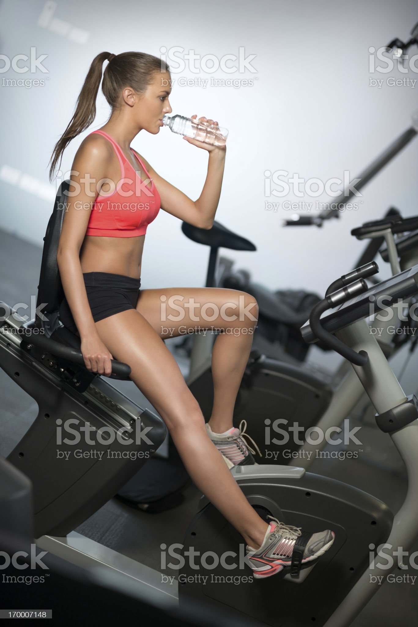 Woman working out, Fitness royalty-free stock photo