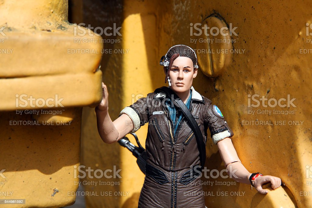 Womanly Steel stock photo