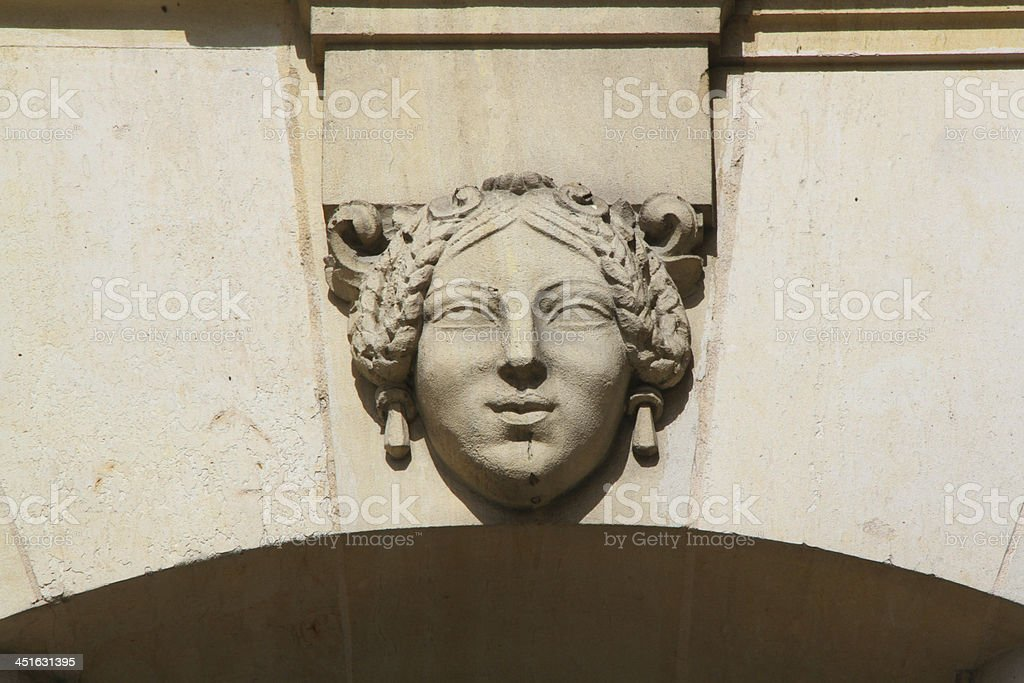 Womanly Stone stock photo