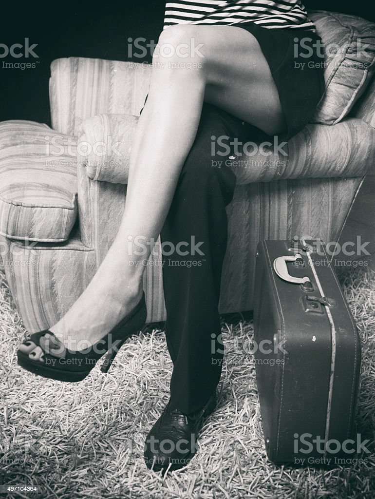 Woman-Man stock photo