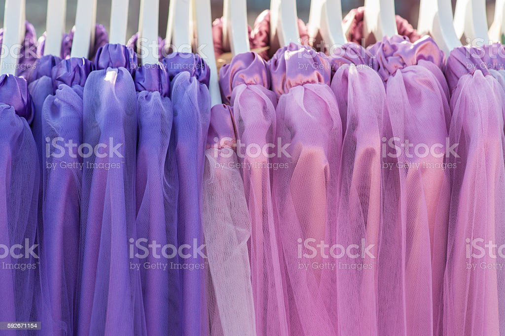 Woman's apparel for summer stock photo