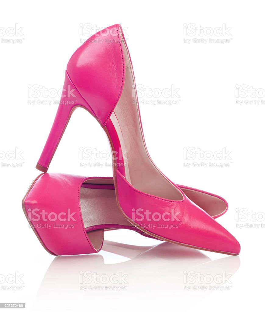 Woman's dress shoes stock photo
