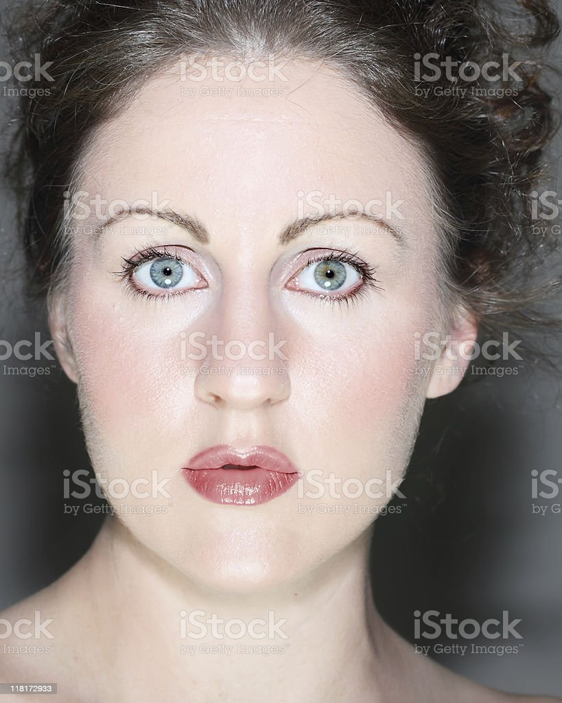 Woman's Face stock photo