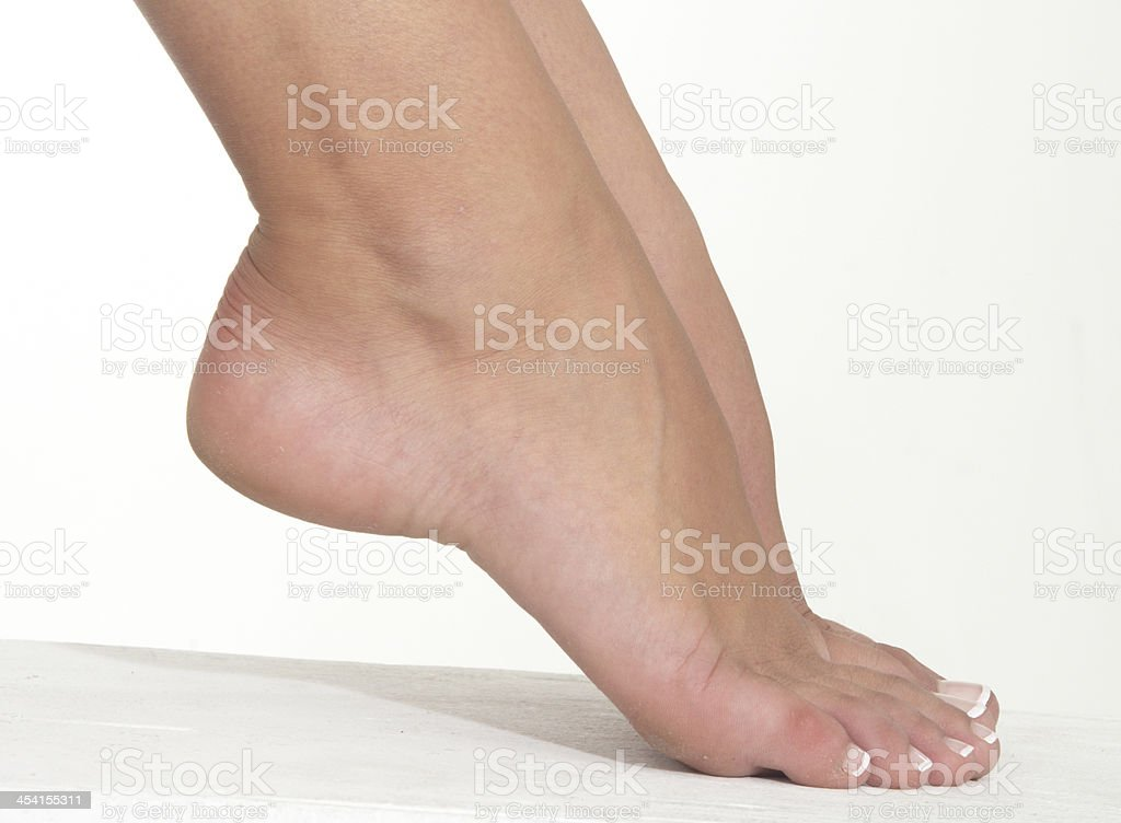 Woman's Feet royalty-free stock photo