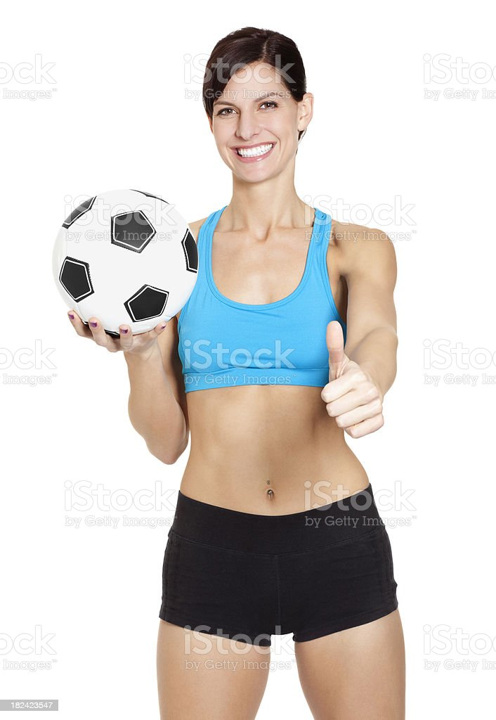 Woman's Fitness Series royalty-free stock photo