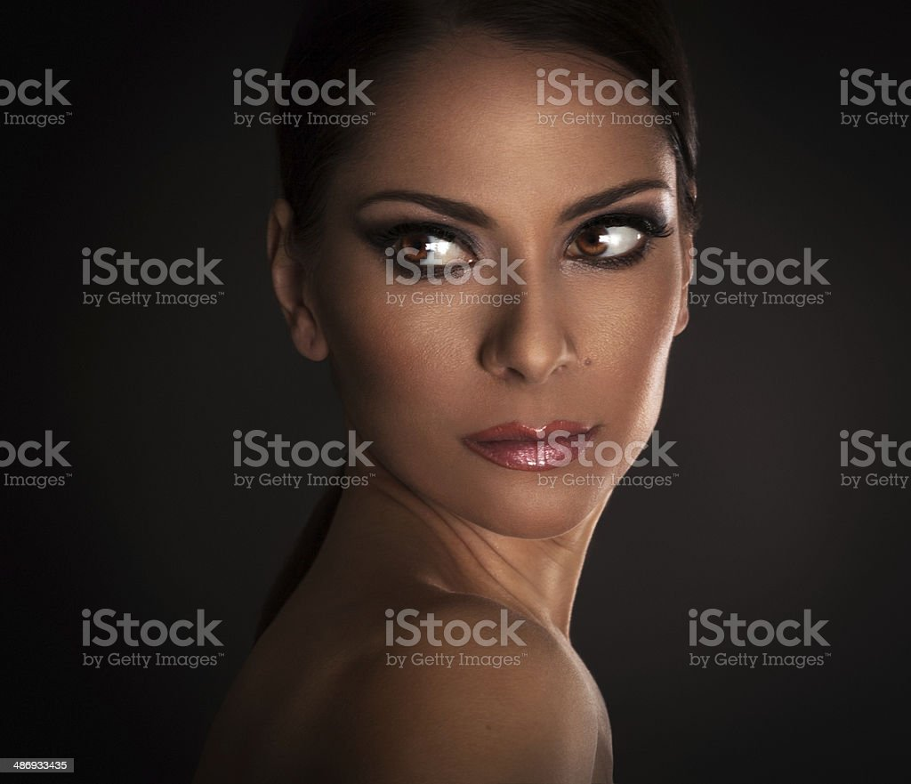 Woman's Glamour beauty stock photo