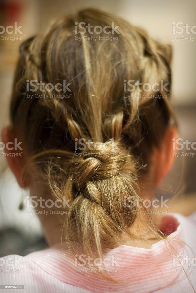 woman's hair abstract royalty-free stock photo