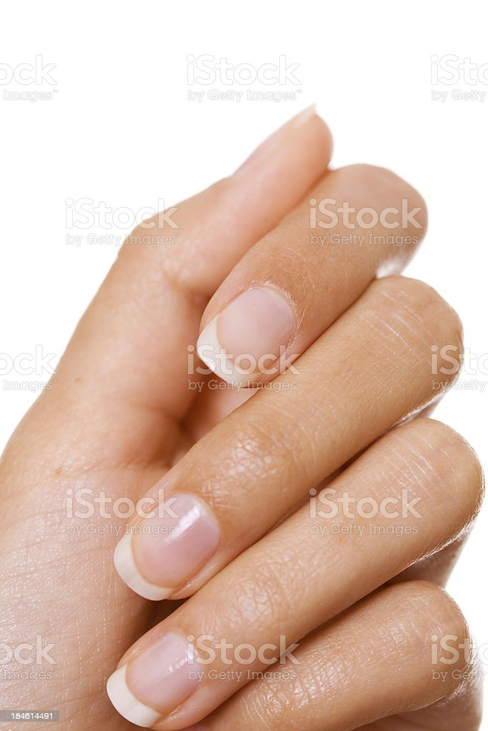 woman's hand royalty-free stock photo