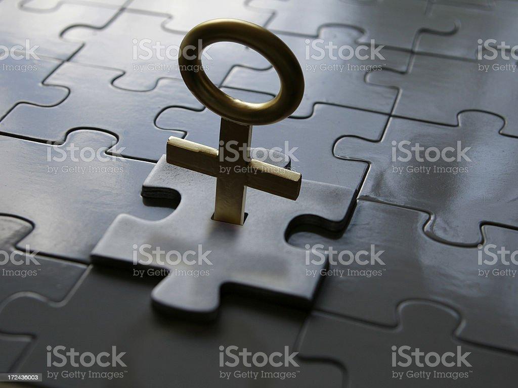 woman's key royalty-free stock photo