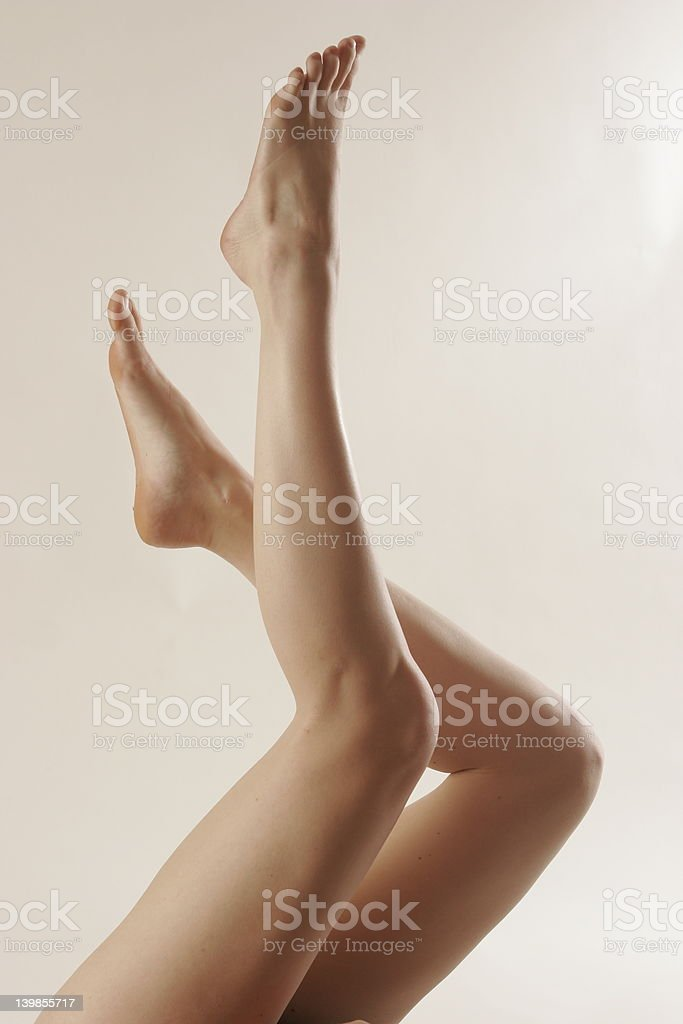 Womans legs. 3 royalty-free stock photo