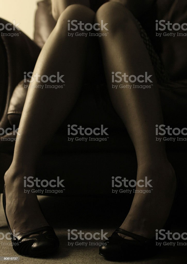 Womans Legs royalty-free stock photo