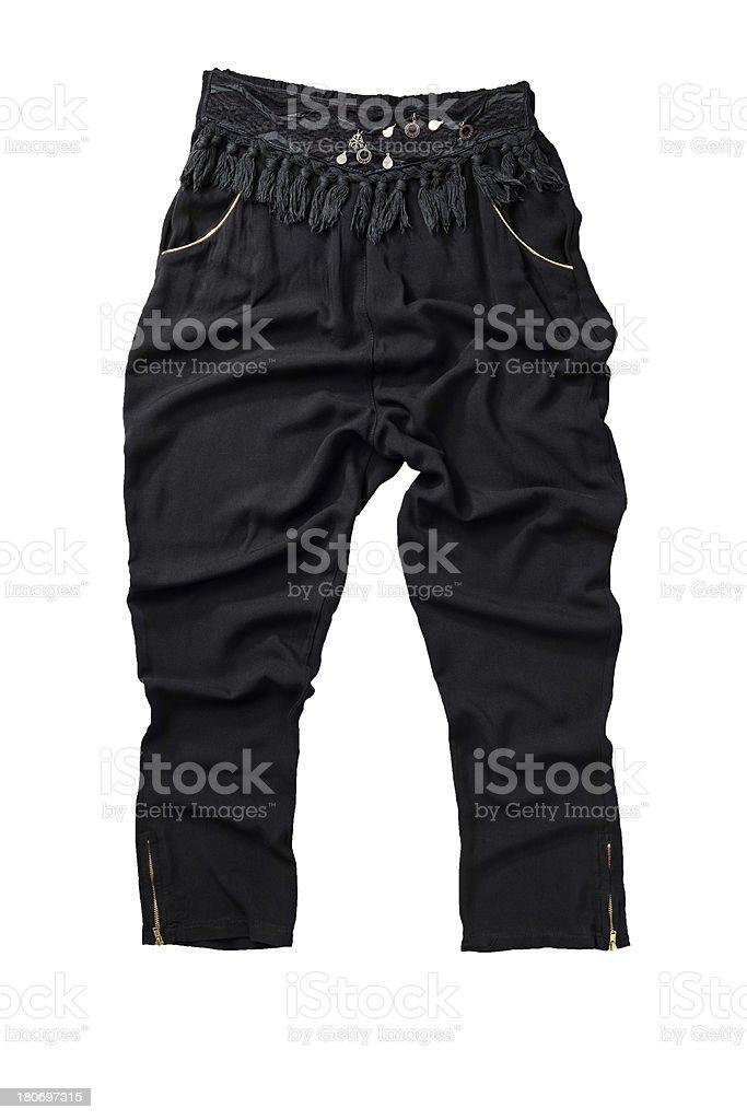 woman's pants royalty-free stock photo