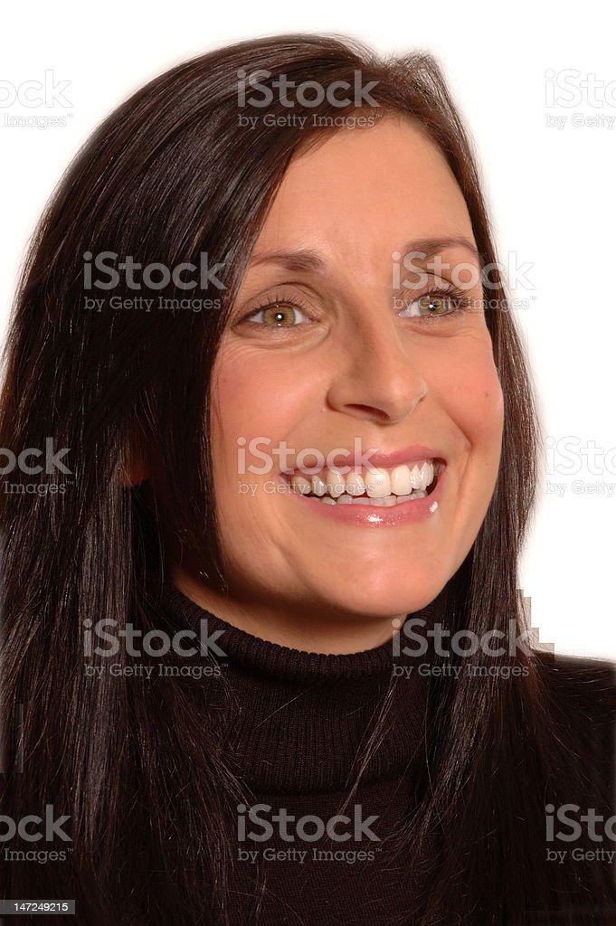 Woman's Portrait stock photo