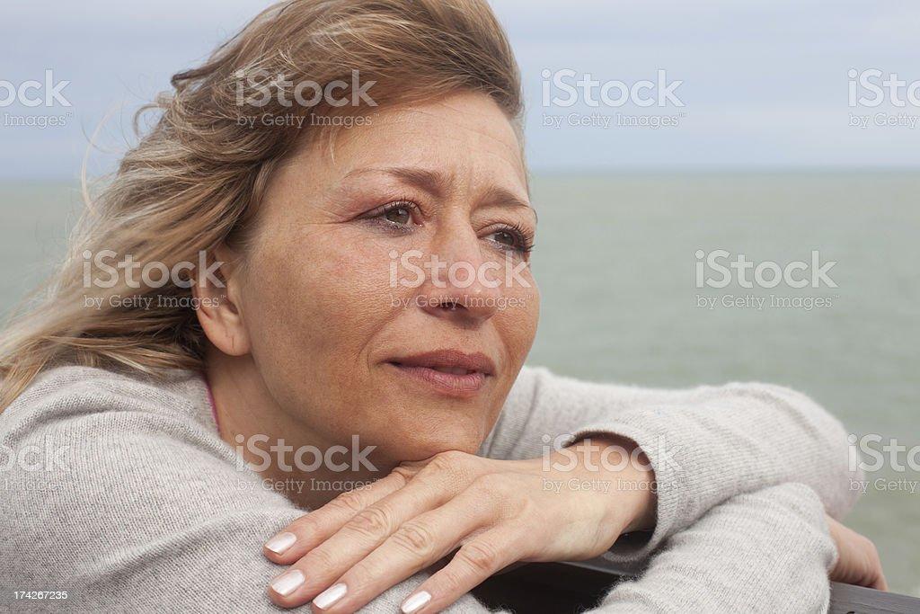 woman's portrait royalty-free stock photo