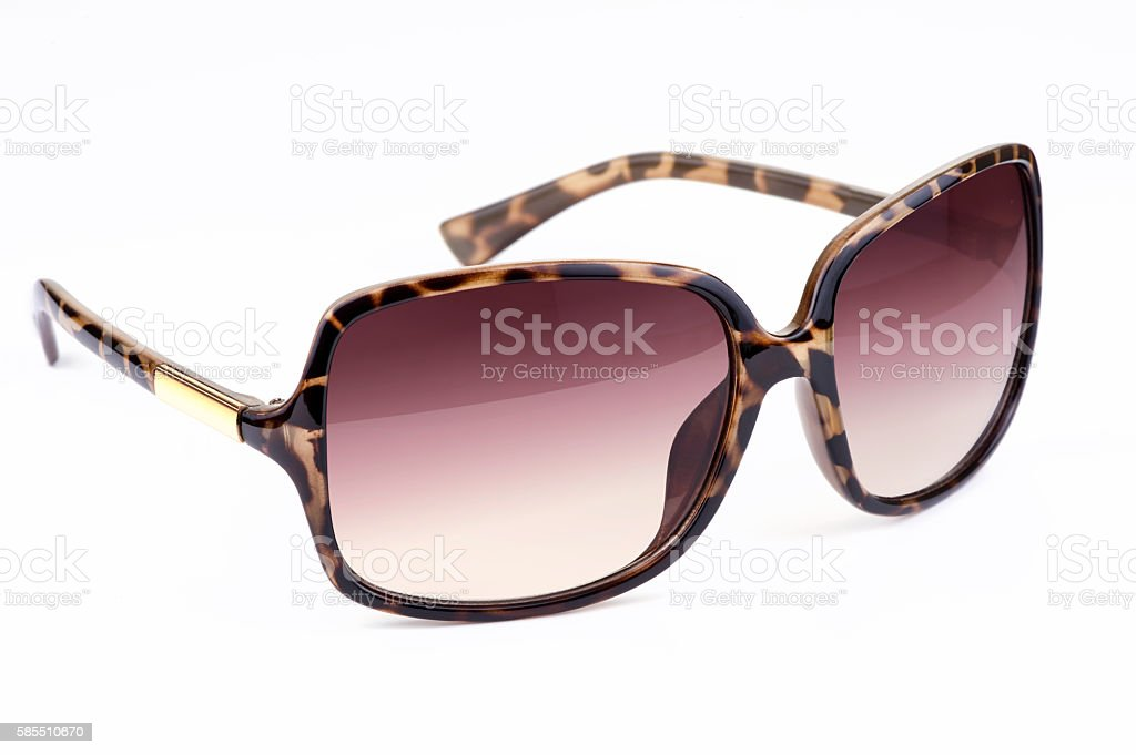 Woman's sunglasses stock photo