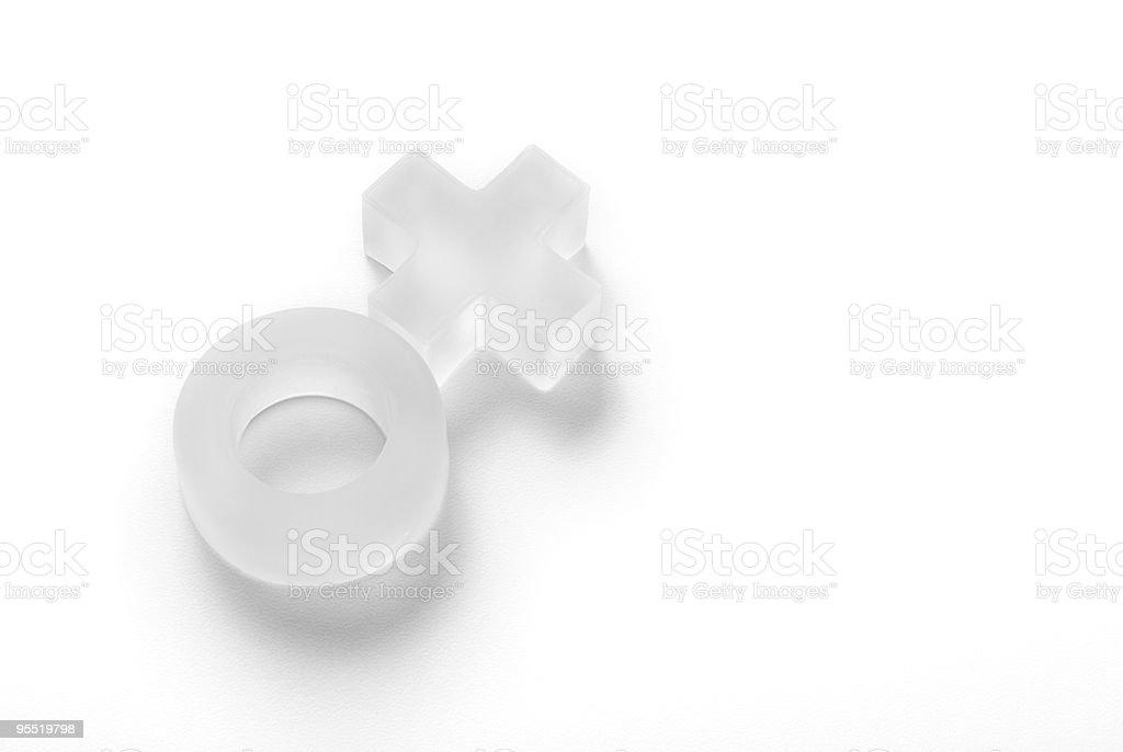 Símbolo de la mujer - foto de stock