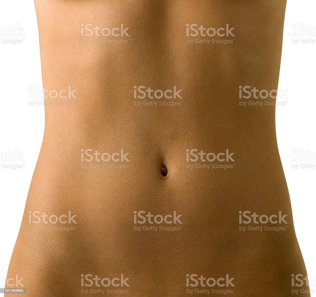 woman's torso royalty-free stock photo