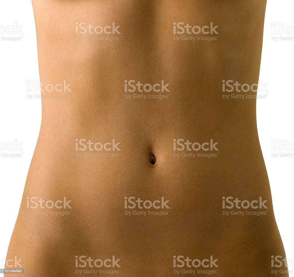 woman's torso stock photo