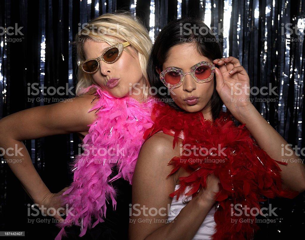 Women at Club stock photo