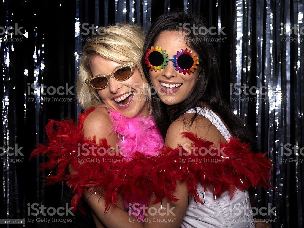 Women at Club royalty-free stock photo