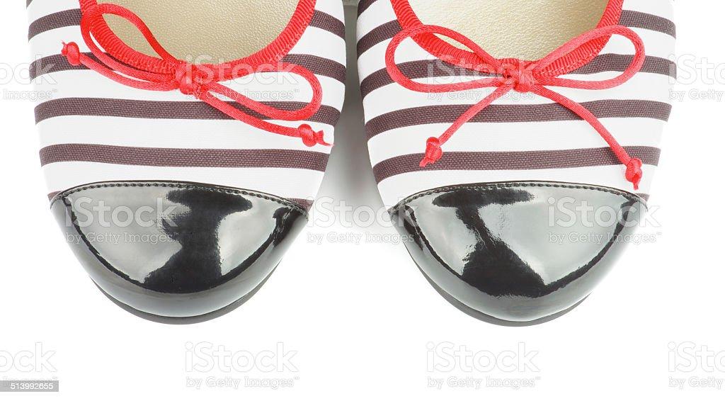 Women Ballet Flats stock photo