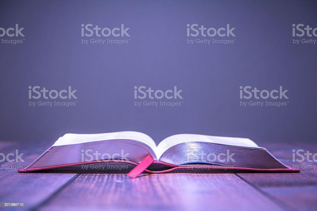 Women Bible stock photo