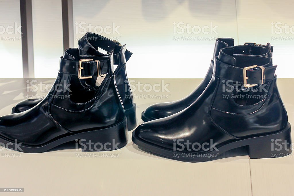 Women boots stock photo