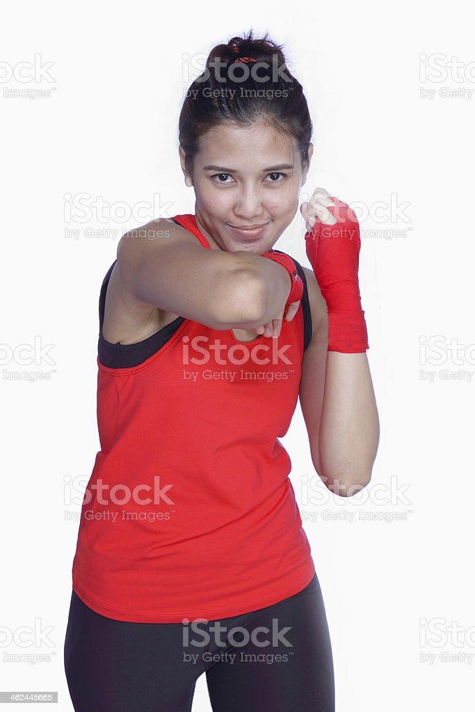 Women boxers be vivacious stock photo