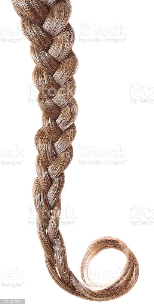 Women braid stock photo