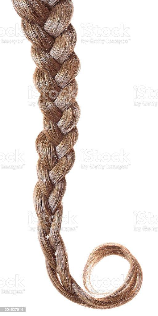 Women braid stock photo