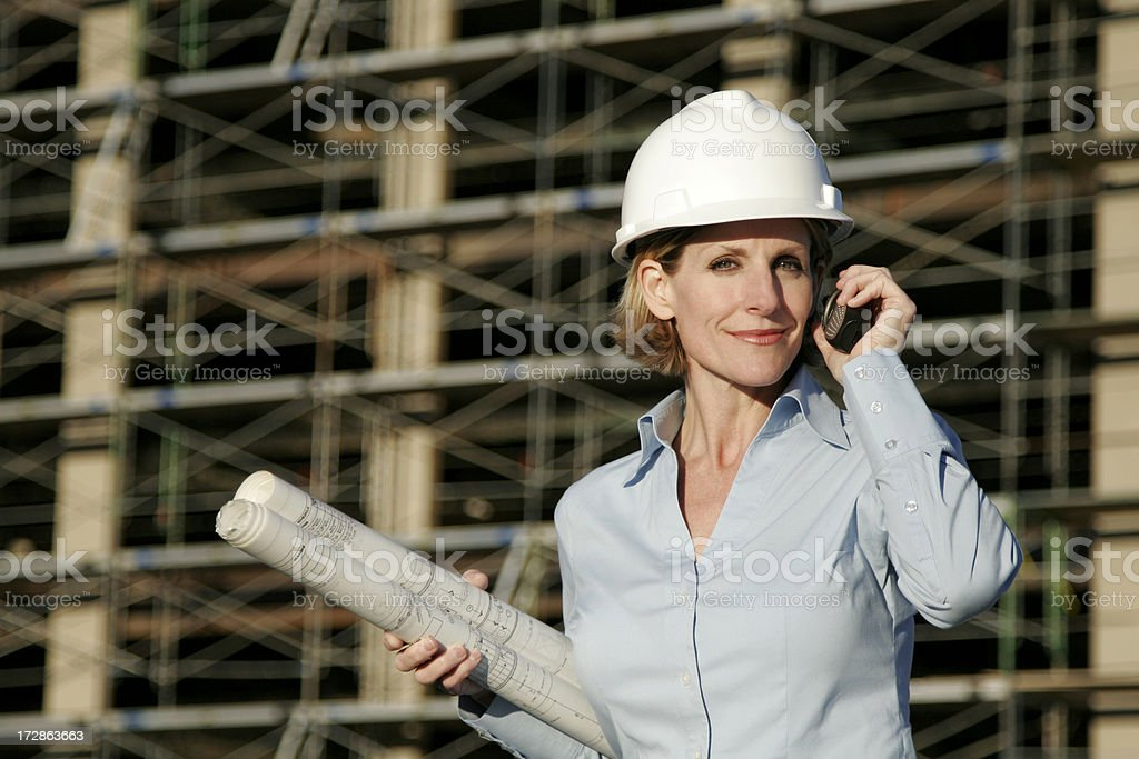 Women Business Careers Series royalty-free stock photo
