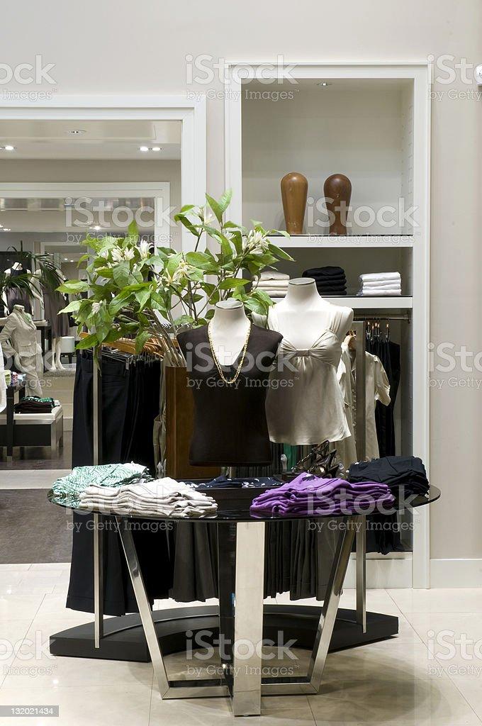 Women Clothing Store stock photo