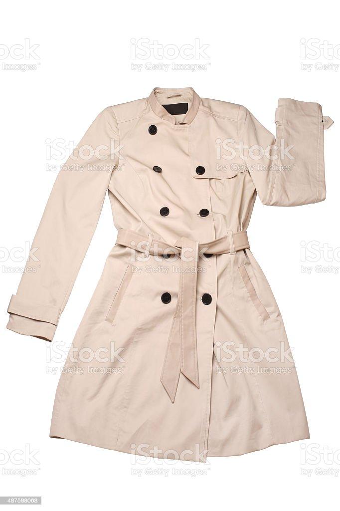 Women coat stock photo
