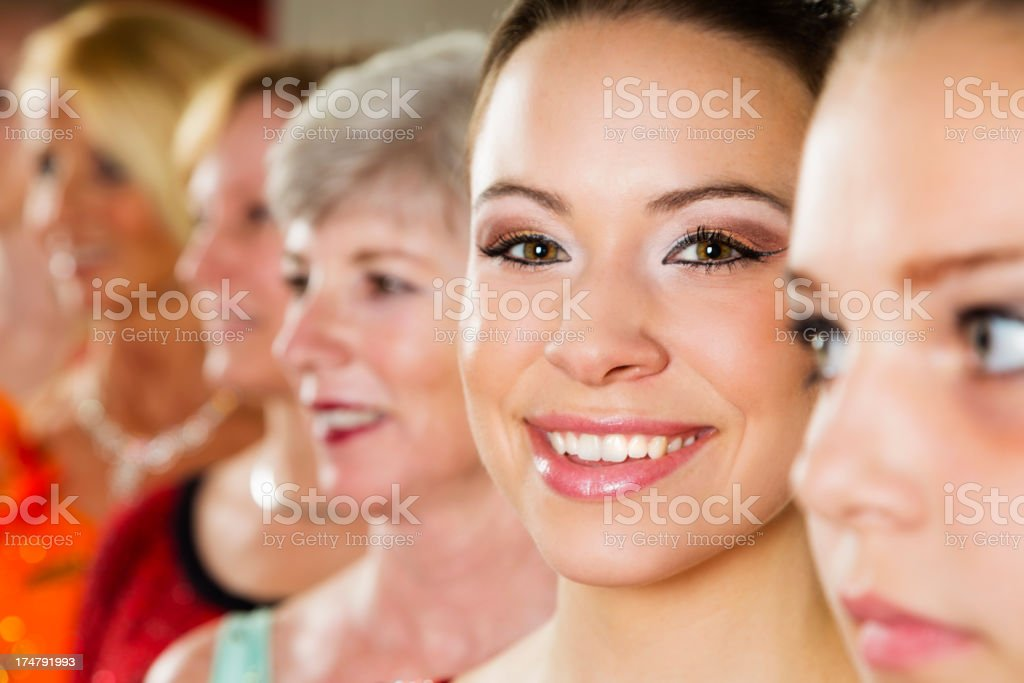 Women Dancers royalty-free stock photo
