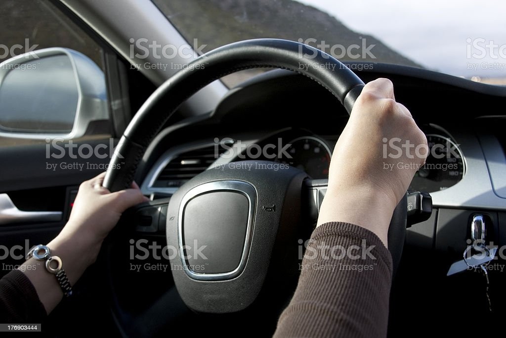 Women Driving stock photo