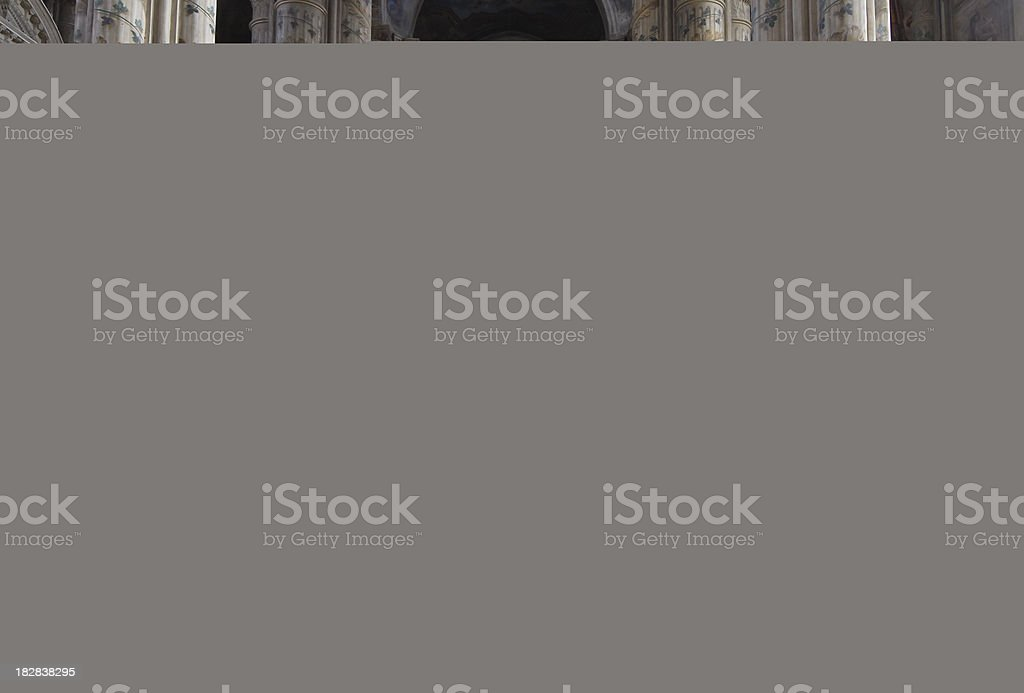 Women face, The Royal Palace  Sculpture royalty-free stock photo