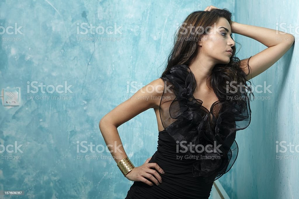 women fashion royalty-free stock photo