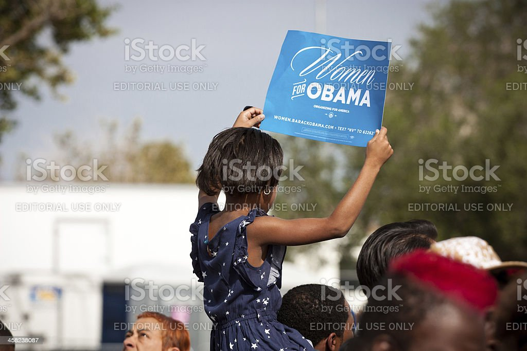 Women for Obama stock photo