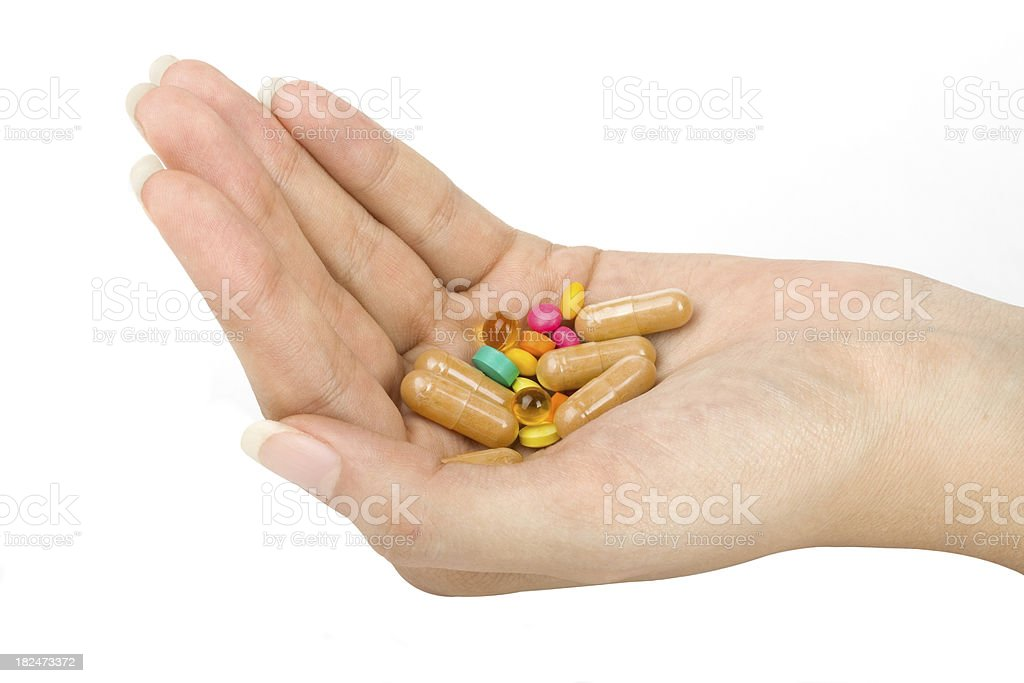 Women hands with tablets royalty-free stock photo