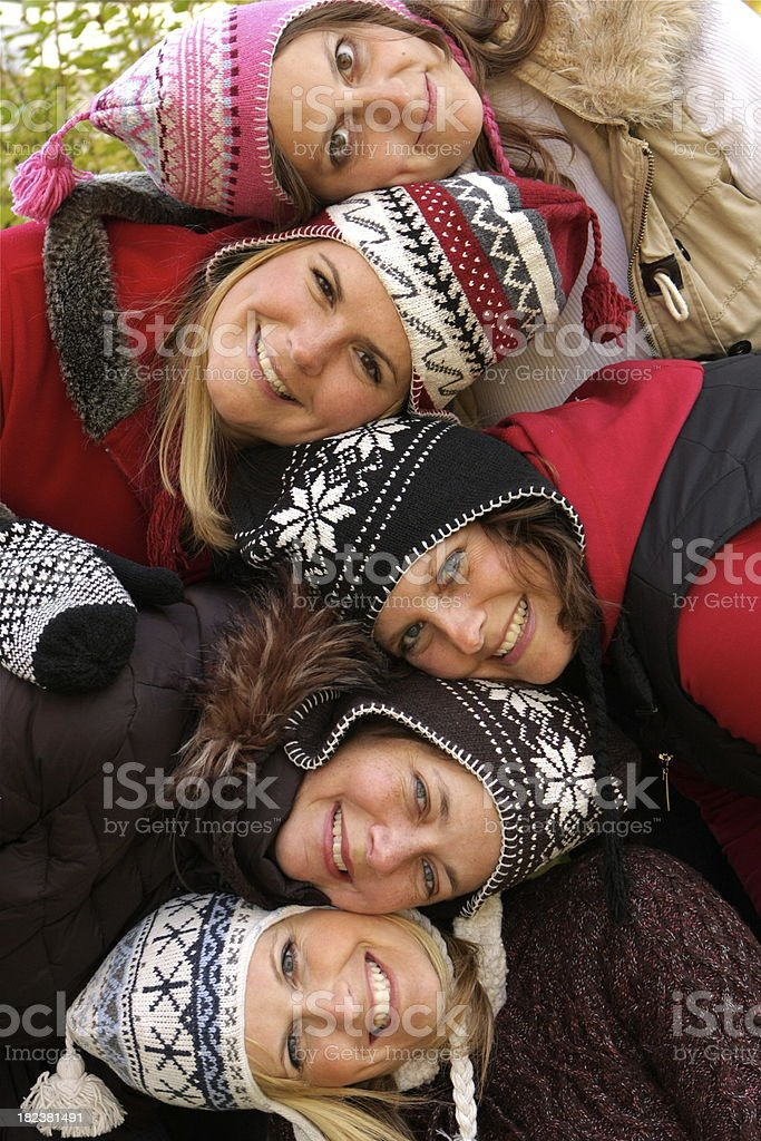 Women Having Fun royalty-free stock photo