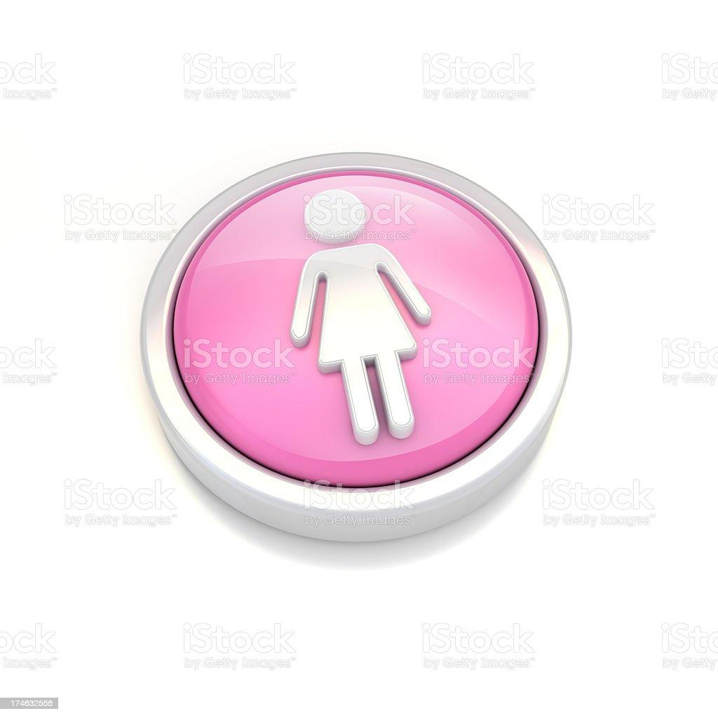 women icon royalty-free stock photo